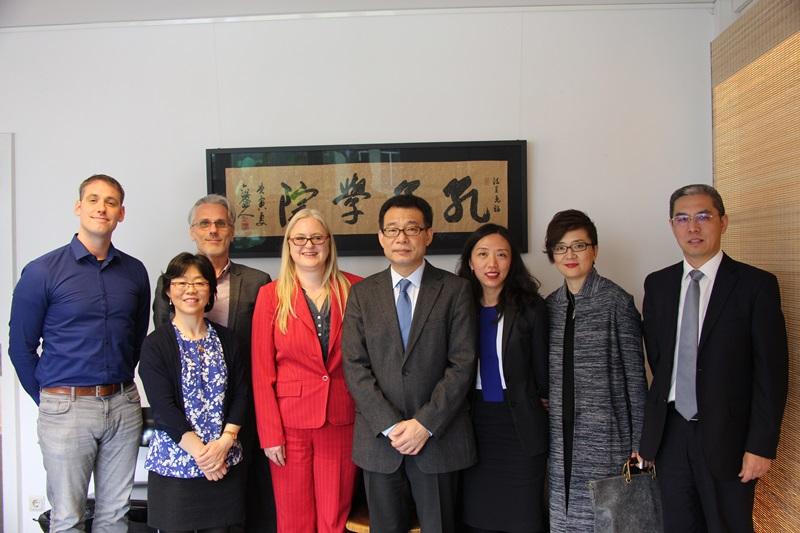 20170321-Besuch-Generalkonsul-WANG-Shunqing-Konfuzius-Institut-Frankfurt (8)